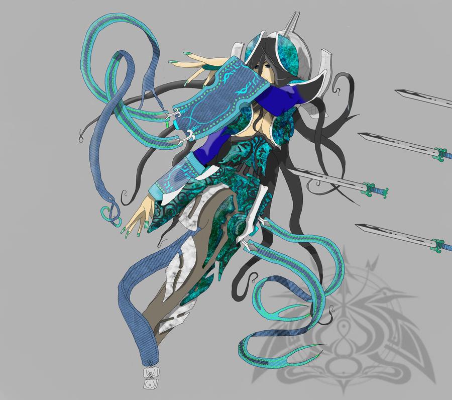 irelia concept art