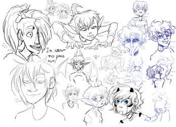 OC Sketches!