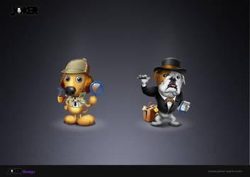 JOKER_Working dogs by joker2011