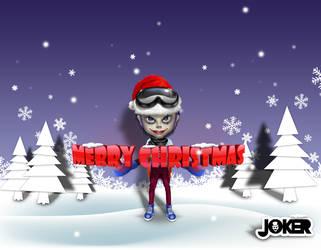 JOKER_Merry Christmas by joker2011
