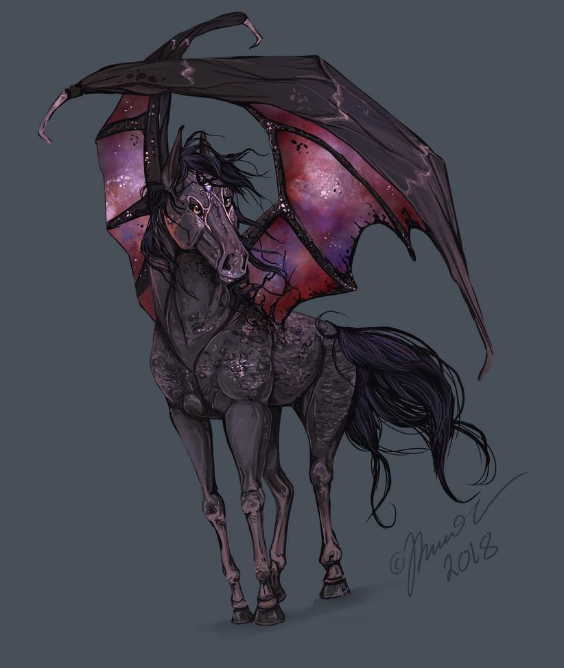 Under the wings by Bombuska