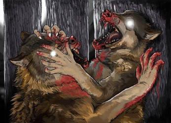 Teeth and Skin by wolffbones