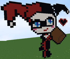 Harley Quinn Pixel Art