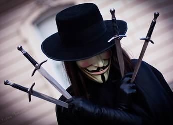 V for Vendetta 1 by KinslayeR13