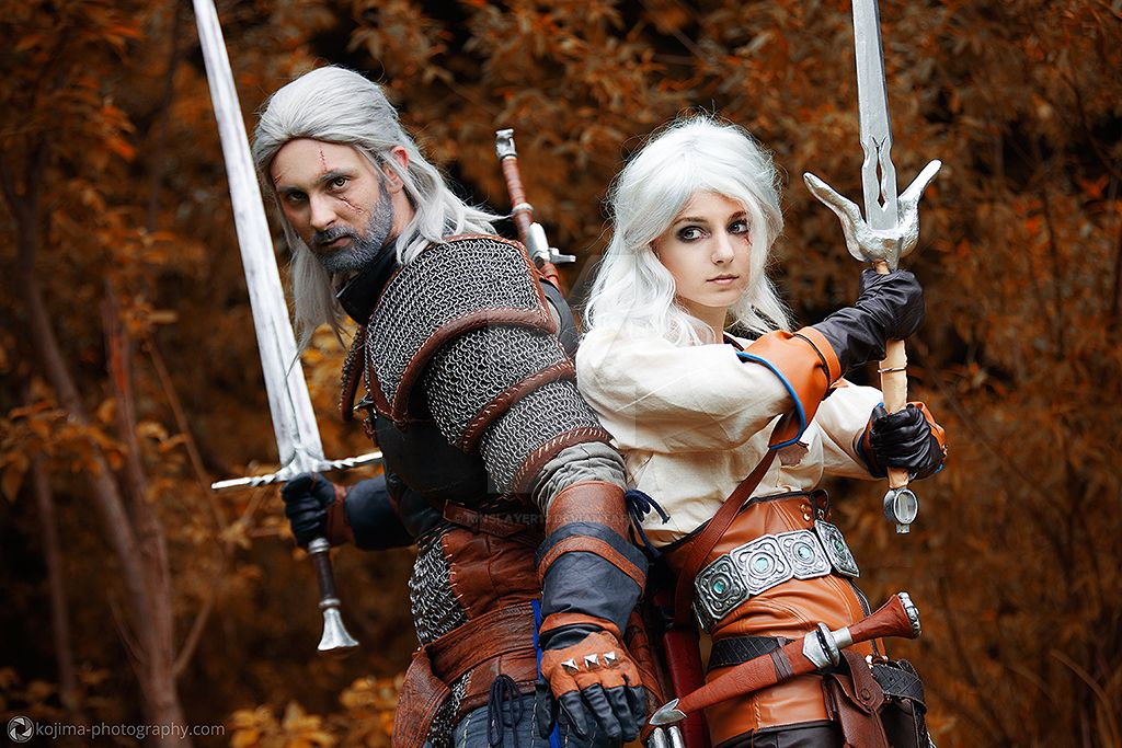 Geralt and Ciri by KinslayeR13