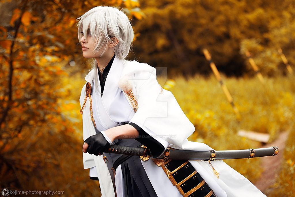 Tsurumaru Kuninaga by KinslayeR13