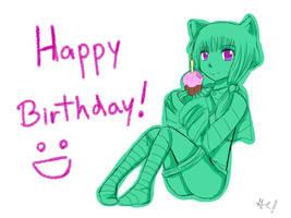 Happy B-day, Natsuki-Suzuhara by TheMangaWitch