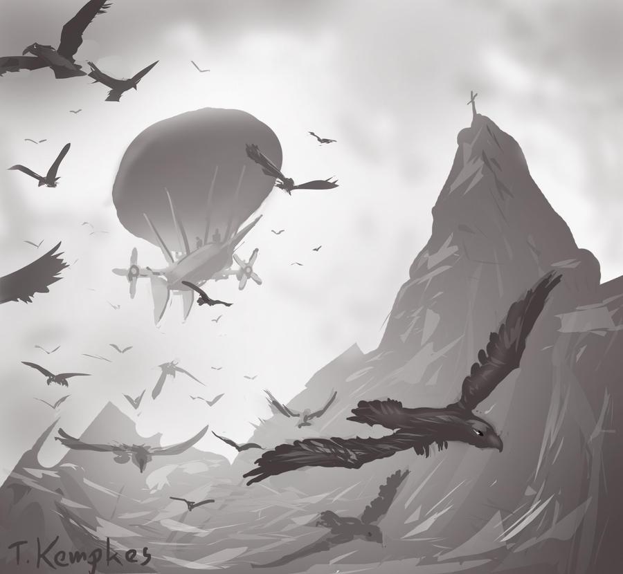 speedpaint flying by Zerrnichter