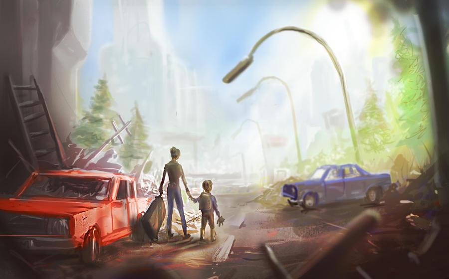rubbishstreets by Zerrnichter