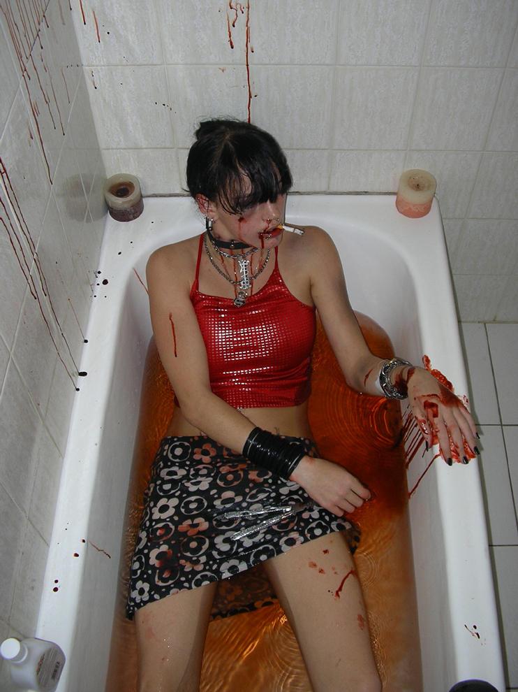 dead in bath 3 by StaBys-Stock