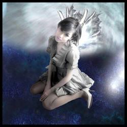 Art Trade: Falling Angel by BeTtEr-Of-TwO-EvilZ