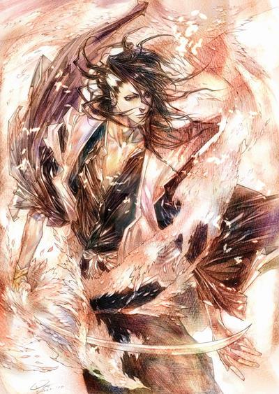 Bleach Byakuya by RAE by siguredo