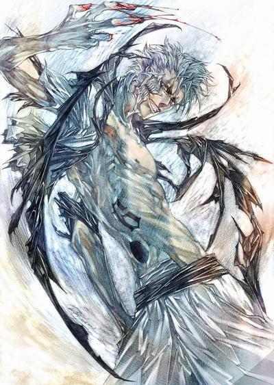 Bleach grimmjow by RAE by siguredo