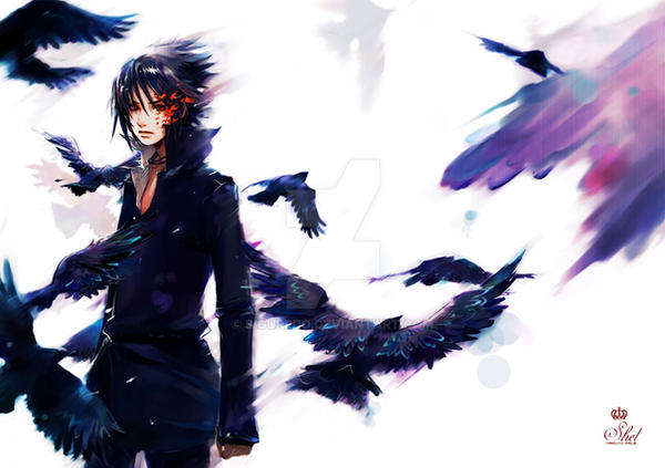 shel - Sasuke poster by siguredo