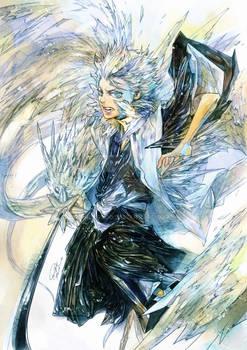 Bleach Hitsugaya by RAE