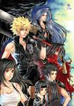 Zen - final fantasy VII poster