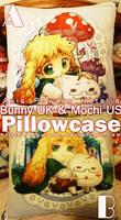 APH- Bunny UK Pillowcase by siguredo