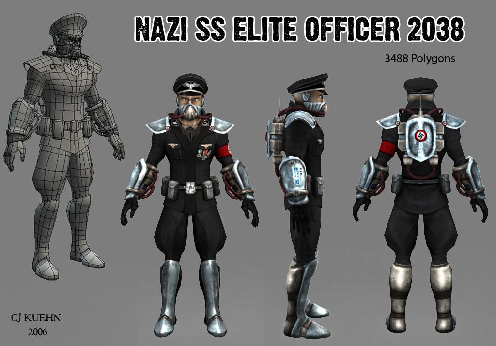 2038 Nazi SS Officer by Kuehn