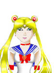 New art style practice with Sailor Moon