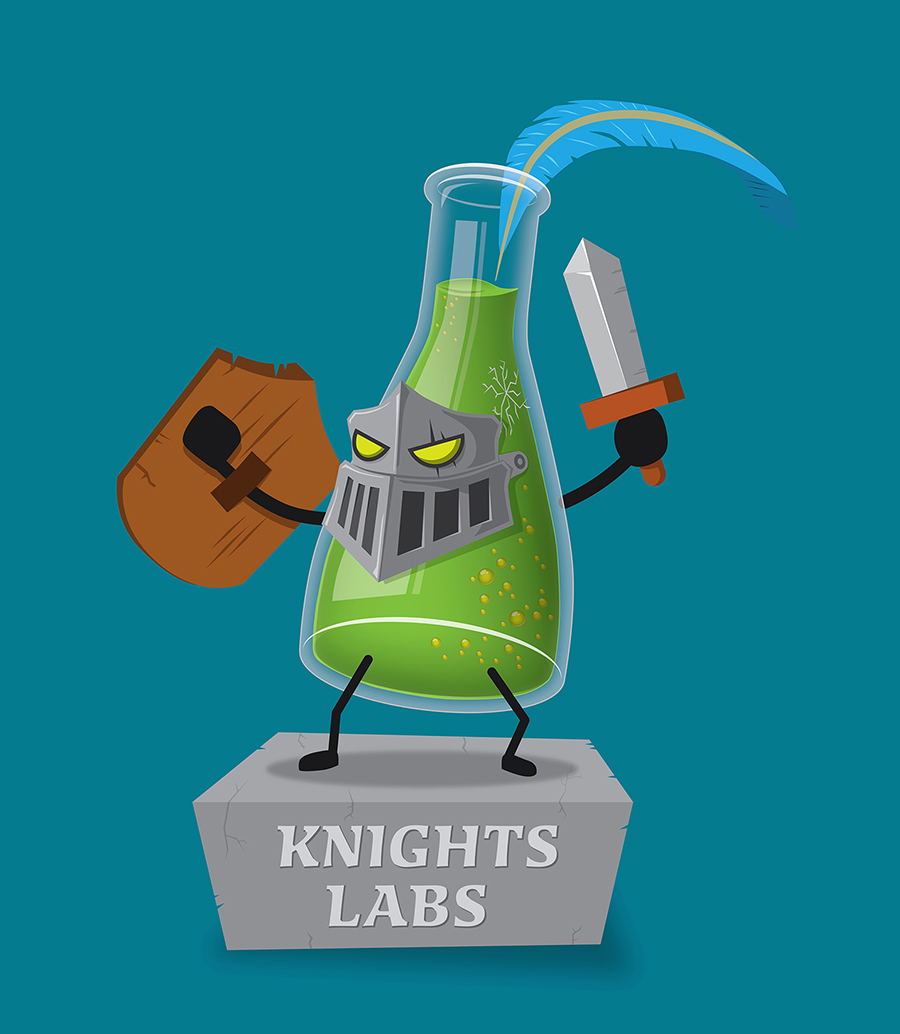 Knights Labs Mascot by 7grims