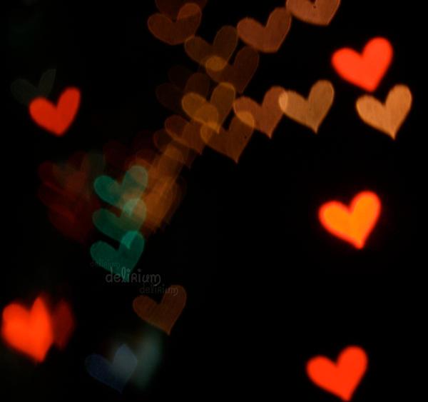 Heart Bokeh by qtrz-delirium