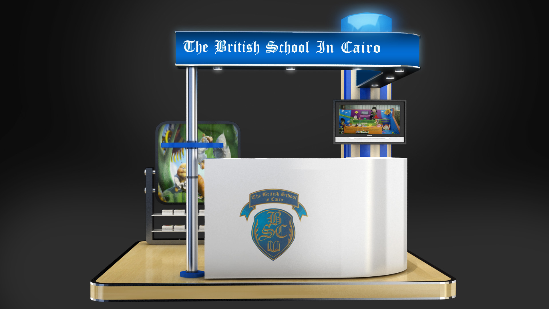 Bsc school Booth Design by moohhamm on deviantART