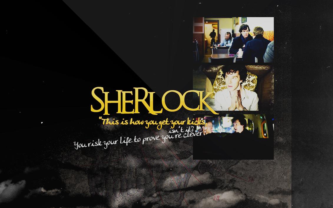 Sherlock BBC Wallpaper by peppermintfrogs
