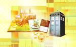 Hogwarts - Tardis Wallpaper