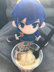 My Blessed Marth Doll Having Ice Cream