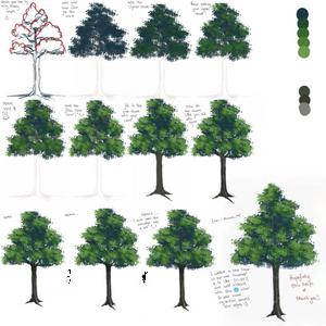 Anime tree tutorial =)