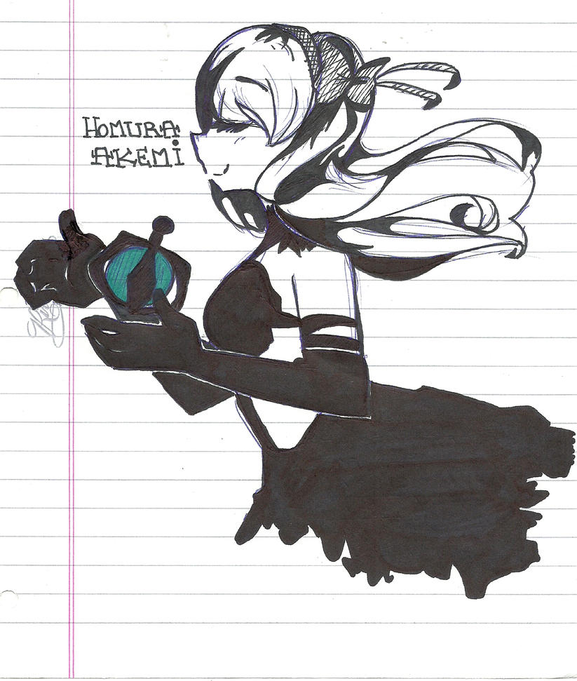 .:Homura:. by meri-phinbella