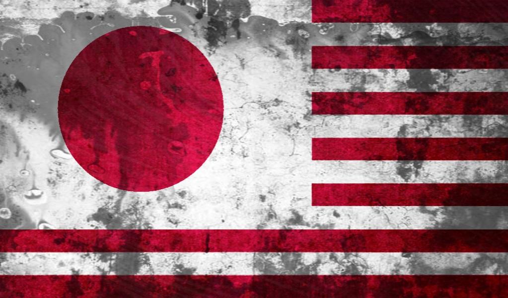 japanese american flag grunge by flagartist on deviantart