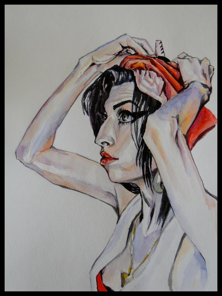 Amy Winehouse by krysyonysh