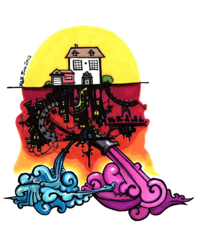 45: Beneath this House by asongforophelia