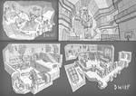 Fantasy interior design 3
