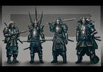 Samurai characters