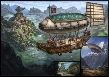 Fantasy adventure by ortsmor