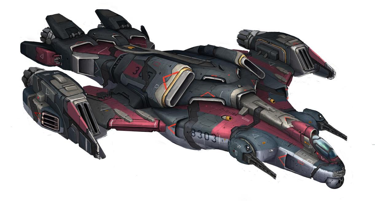 spaceship-001 by ortsm...