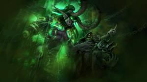 Wow Legion Demon Hunter Wallpaper By Atraelegie On Deviantart