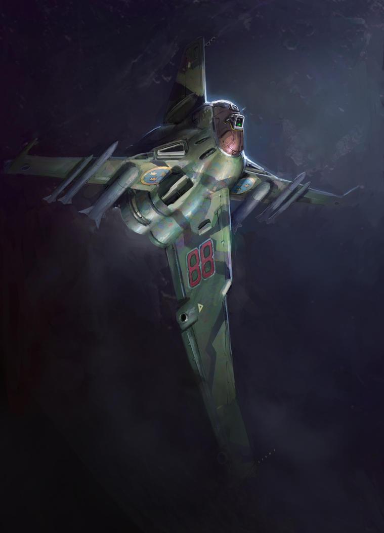 Spaceship-003 by ortsmor