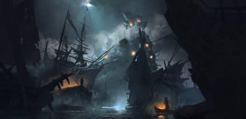 A pirate night