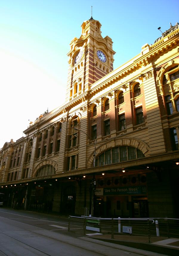 flinders street station by emplifya