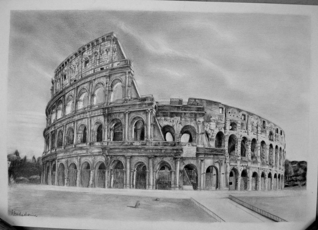 Colosseum By Szura69 On DeviantArt