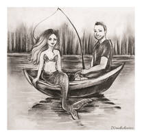 Mermaid commission by Szura69