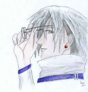 Muraki without his glasses