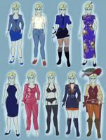 Alisea's clothes by LustDiDHarem