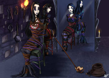 They're trussed up, but spooky... by LustDiDHarem