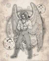 Archangel Jophiel by jayfrench