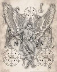 Archangel Zadkiel by jayfrench
