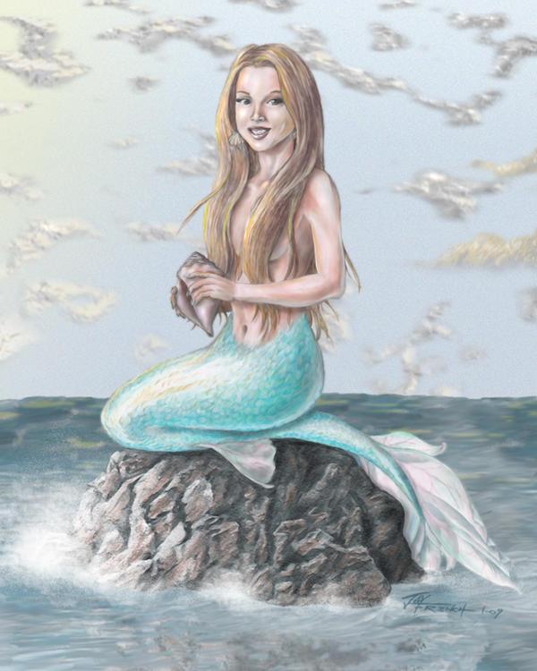 Mermaiden by jayfrench